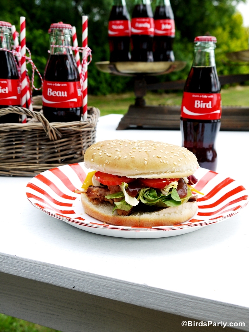 Coca-Cola® Pulled Pork Recipe with Homemade BBQ Sauce  - BirdsParty.com