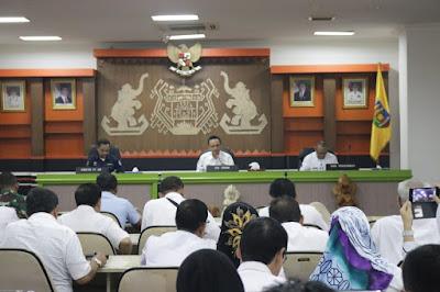 Pemprov Bahas Peningkatan Kualitas dan Suguhan Konten Spesial di Lampung Fair 2019