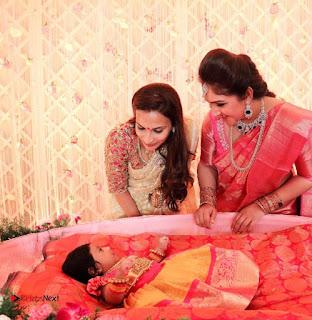 Rahul Actress Sridevi Vijaykumar Baby Rupikaa Naming Ceremony Pictures 0008