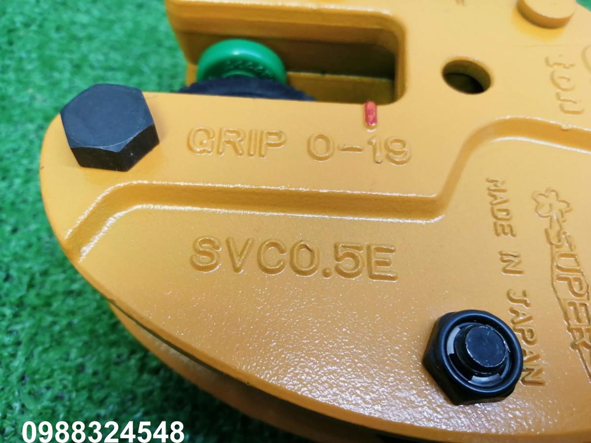 Kẹp tôn đứng Supertool SVC-0.5E 0.5 tấn