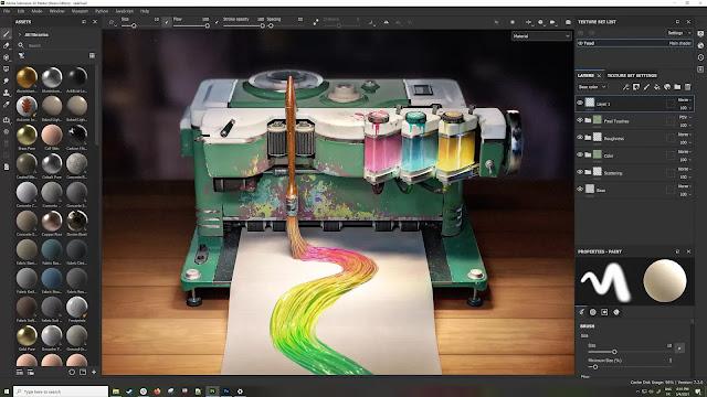 Adobe Substance Painter WINDOWS SOFTWARE!! Crack Version! FREE!!