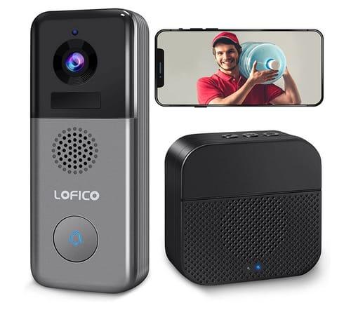 LOFICO LO1S 2K WiFi Rechargeable Battery Doorbell Camera