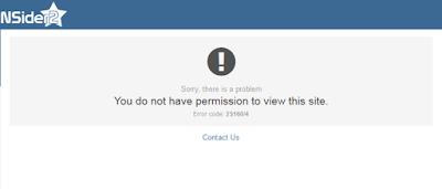 NSider2 CrowdGather ban message forum