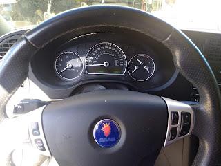 2008 Saab 9-3 steering wheel