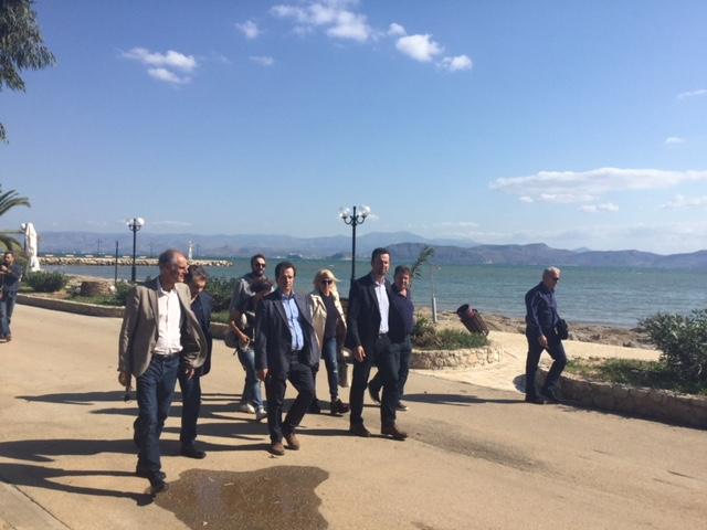 Αυτοψια Δέδε -  Γκιόλα σε Άργος και Λυγουριό για της ζημιές από την κακοκαιρία