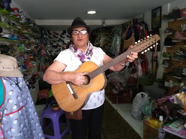 Ni ante la adversidad y la pandemia, Toyita Chiguachía jamas se dará por vencida. Foto: La Pluma & La Herida