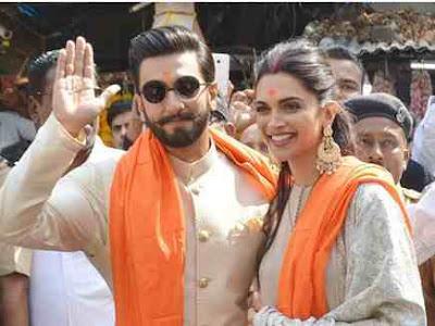 Deepika and Ranveer reached Siddhivinayak Temple