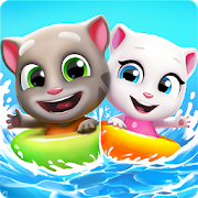 Download Game Talking Tom Pool Apk Mod Unlimited Money Puzzle for android