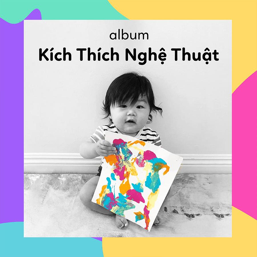 Album nhạc thai giáo kích thích trí não của trẻ