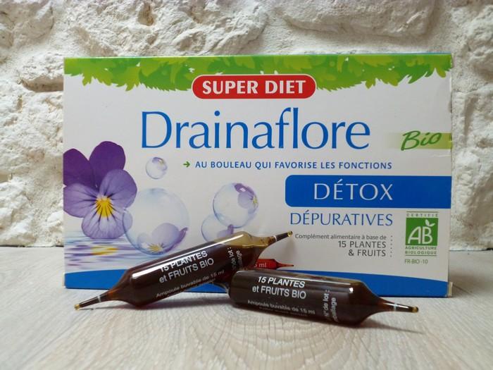 cure drainaflore détox super diet