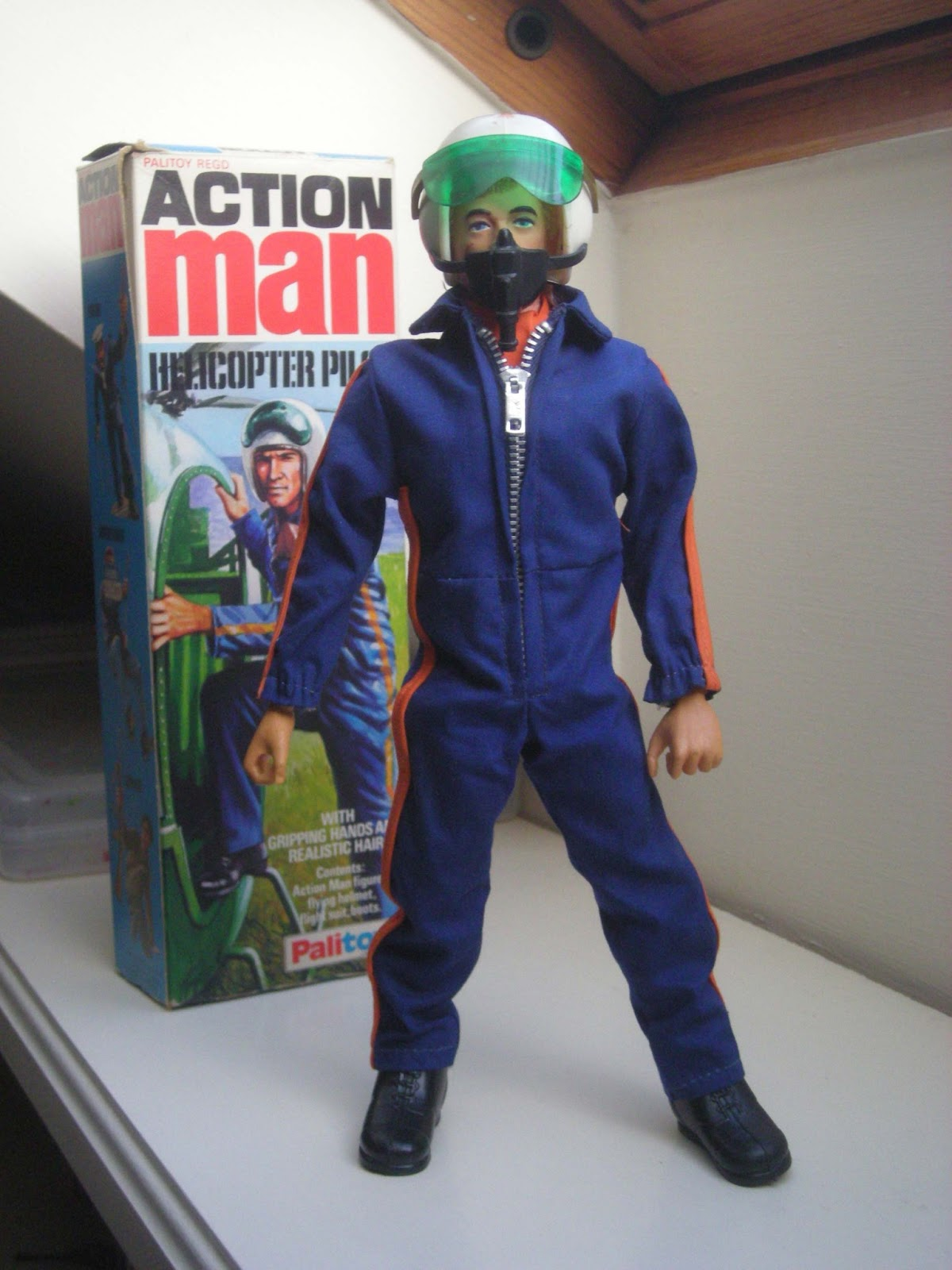 Vintage Palitoy Action Man 1973-84: Boxed Figures & Outfits