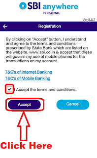 how to register sbi anywhere app