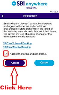 how to register sbi anywhere app