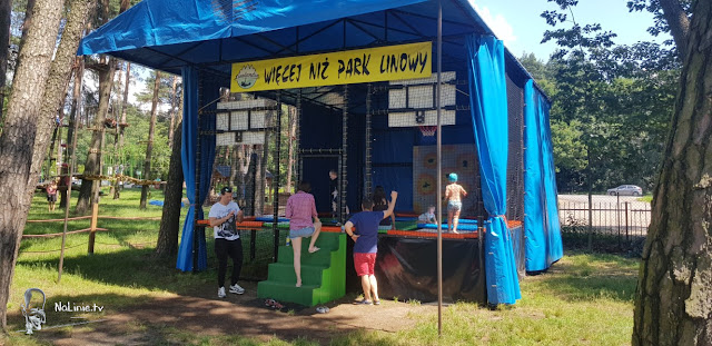 park trampolin małopolska