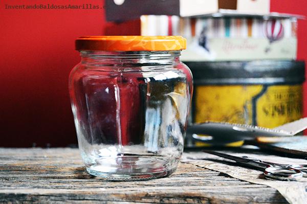 Tutorial para reciclar botes de mermelada