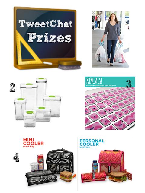 Back To School Week TweetChat Prizes - Sunday 8/18 6pm EST #backtoschoolweek