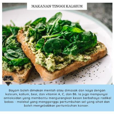9 Makanan Tinggi Kalsium