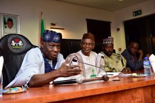 Obasanjo Pays Surprise Visit To El-Rufai In Kaduna (Photo)