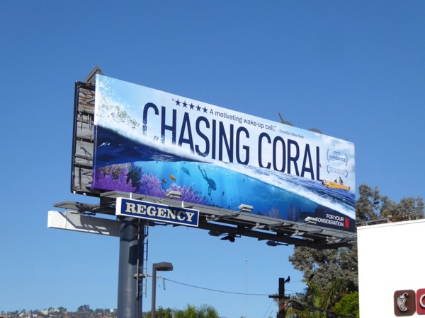 Chasing Coral FYC billboard