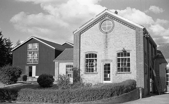 Photograph of North Mymms Pumping Station July 1966 Warrengate Road, Water End