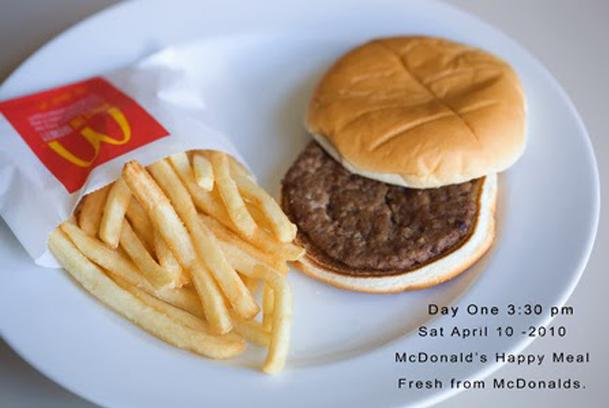 Fél év után sem rohad a McDonald's-menü