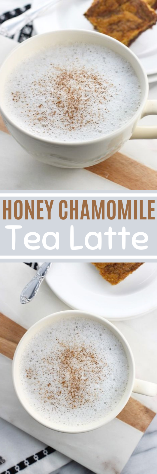 Honey Chamomile Tea Latte #drinks #healthy #latte #warm #tea