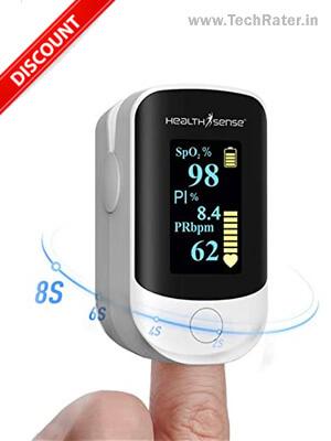 Mini Oximeter Monitor Check Blood Oxygen Anywhere