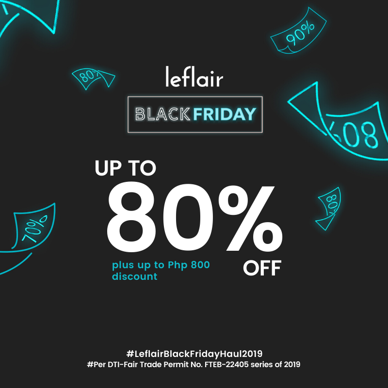 image of leflair black friday ad up to 80% off