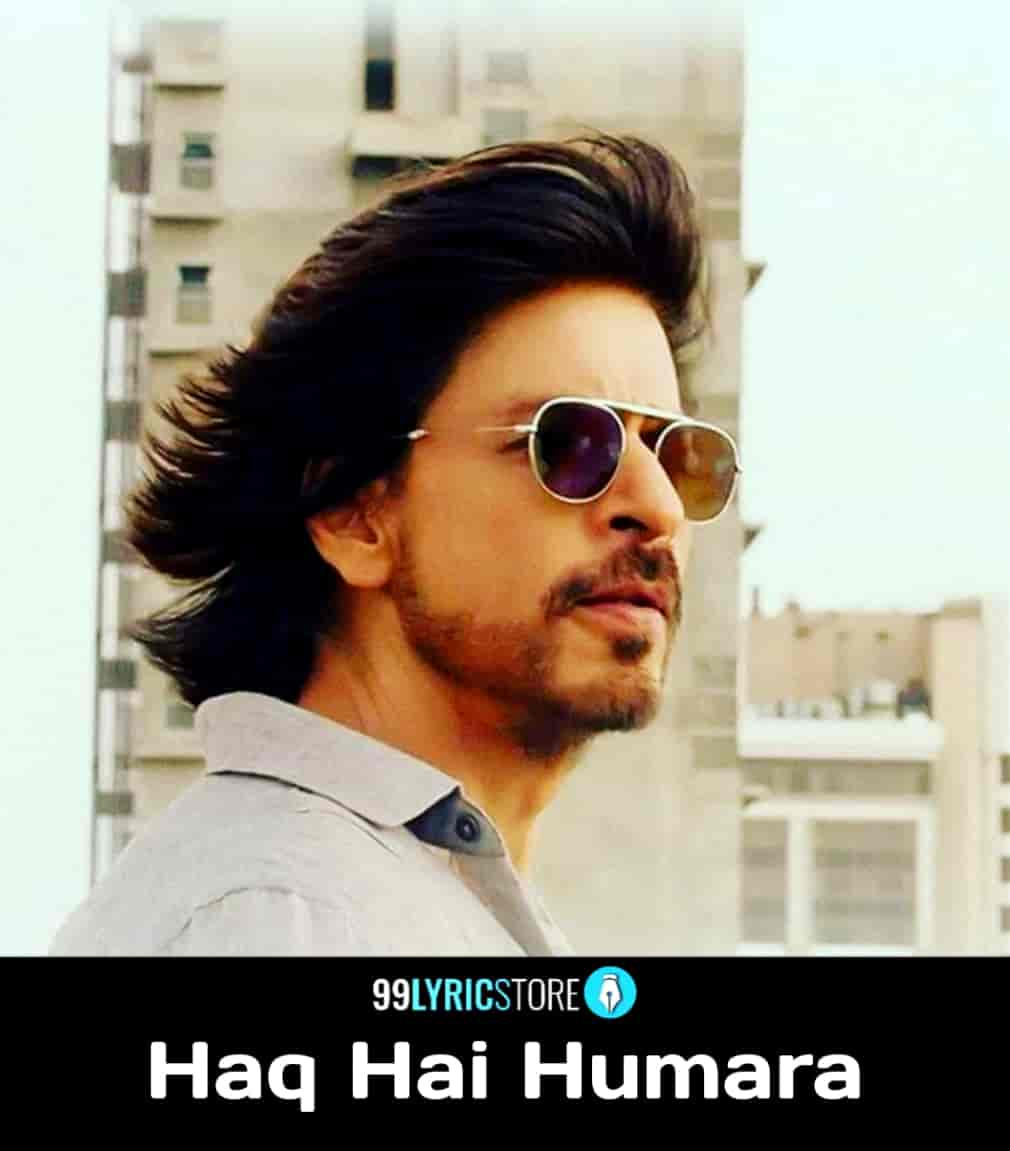 Haq Hai Humara Lyrics :- The Very talented artist Vishal Mishra given his voice in a very beautiful promotional hindi song which is titled ...