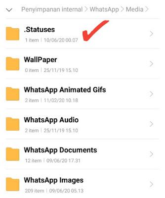 Cara Menyimpan Video dan Video dari Status WhatsApp Tanpa Aplikasi