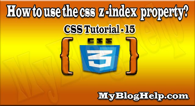 css z-index property