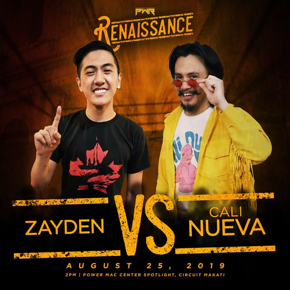 PWR Renaissance Predictions: Zayden vs. Cali Nueva