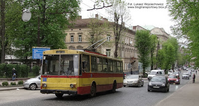Trolejbus Škoda 14Tr #516, Lwów