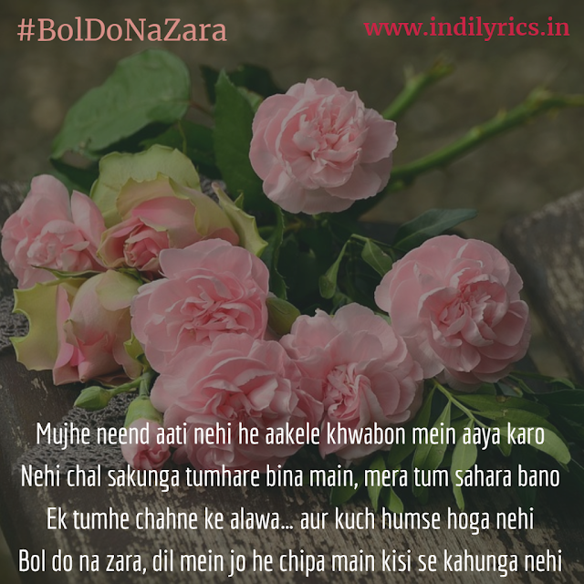 Bol Do Na Zara | Armaan Malik Audio song lyrics with English Translation and real meaning