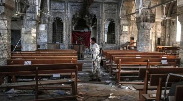 Kota Kristen Berhasil Direbut dari ISIS, Seluruh Lonceng Gereja Dibunyikan