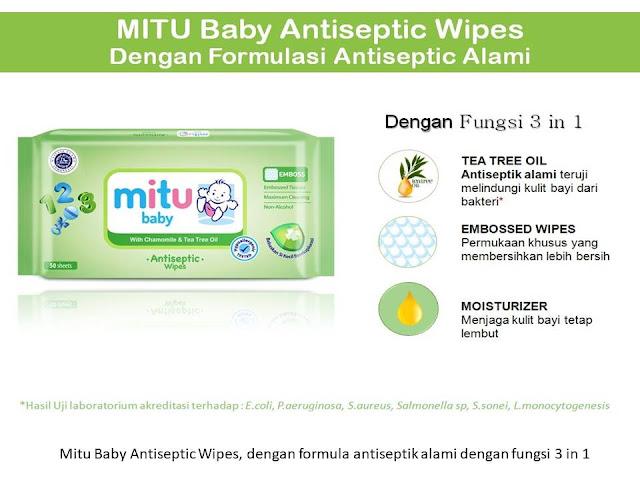 mitu baby tisu basah antiseptik