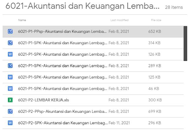 Download Soal UKK Akuntansi dan Keuangan Lembaga Kurikulum 2013 Tahun 2021 dan Lembar Kerja serta Pedoman Penilaian UKK Tahun 2021