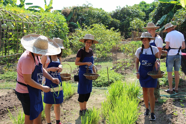 Thai Secret Cooking Class and Organic Garden
