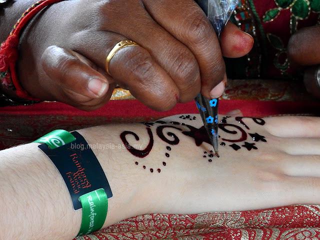 Henna from Sarawak