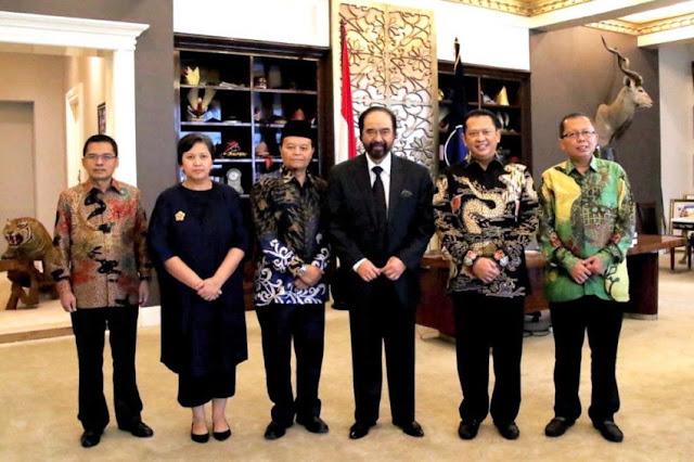 Silaturahim MPR, Surya Paloh : Masih Adakah Pancasila?