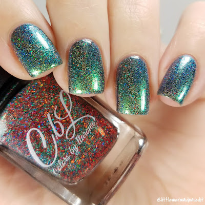 Colors By Llarowe Bah Humbug The Whole Christmas Shebang Swatches and Review