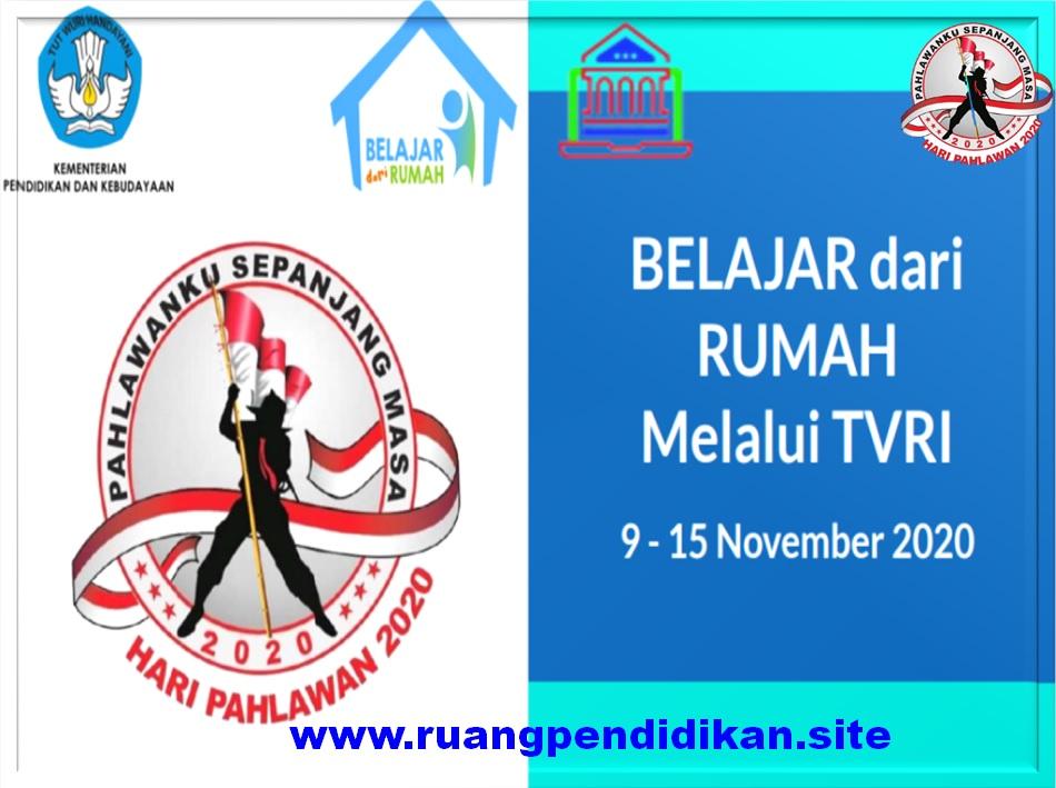 Jadwal BDR Di TVRI Tanggal 9, 10, 11, 12, 13 November