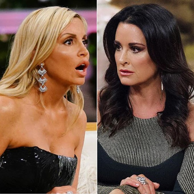"Camille Grammer Shares Text Messages She Sent Bravo Producers After They Tried To Convince Her To Film With Kyle Richards On RHOBH! Camille Slams Kyle And Accuses Her Of ""Twisting"" Stories ""To Her Benefit""; Says ""Kyle Sits Back All Smug While Her Minion Does Her Dirty Work"""