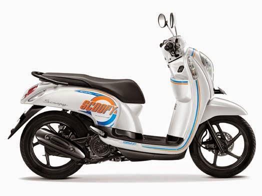 Honda Scoopy eSP Sporty Capital White