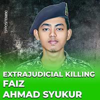 Almarhum Faiz Ahmad Syukur