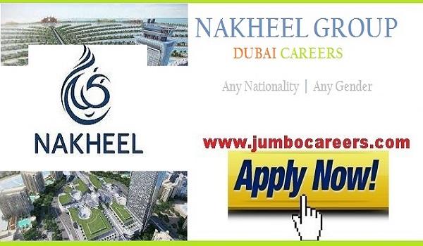 Nakheel Group Dubai Job Vacancies 2021