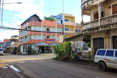 Royal Hotel in der Stadt Pakse - Laos