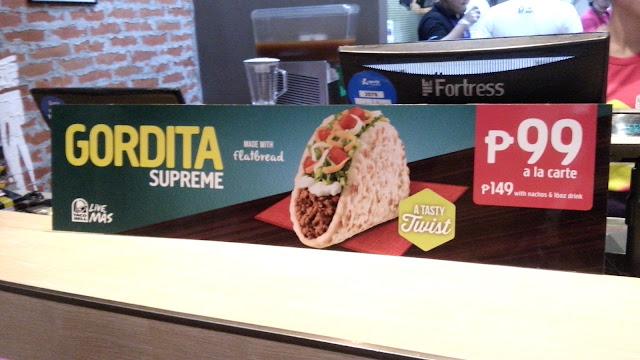 taco bell gordita supreme