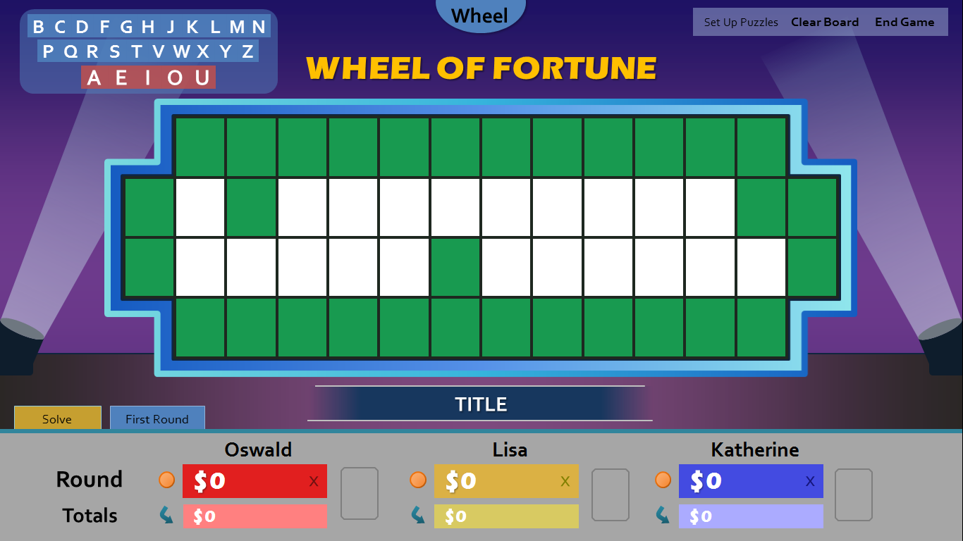 wheel of fortune powerpoint template free image collections, Powerpoint templates