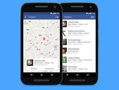Do You Know That Facebook Can Now Help You Find Free Wi-Fi Network Nearby?